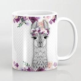 FLOWER GIRL ALPACA Coffee Mug