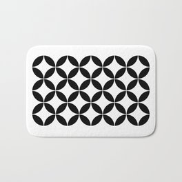 Geometric Pattern #65 (circles) Bath Mat