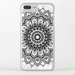 Pleasure Marble Clear iPhone Case