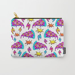 Crazy space alien pizza attack! Carry-All Pouch