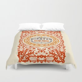 Hipster Style 6th Avenue Duvet Cover