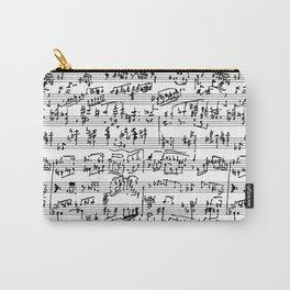 Hand Written Sheet Music Carry-All Pouch