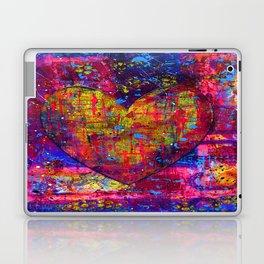 heARTFUL 1 - Mixed Media Art Laptop & iPad Skin