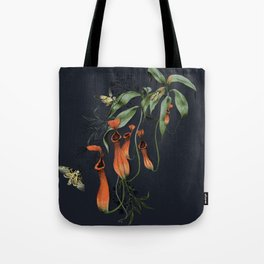 Carnivorous Pitcher Plant Tote Bag