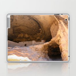 Ancient Pueblo - Gila Cliff Dwellings Laptop & iPad Skin