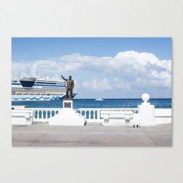 Cruise Life - Cozumel Canvas Print