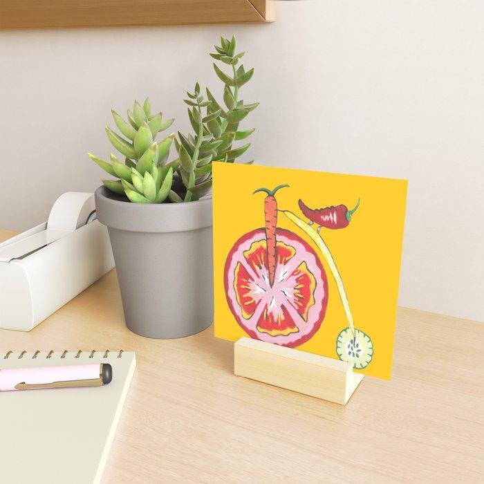Kitchen Vegetable Art Mini Art Print