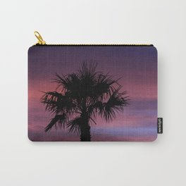 Palm Sunset - 8 Carry-All Pouch