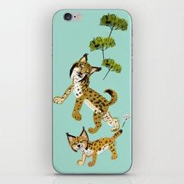 Totem Iberian Lynx iPhone Skin