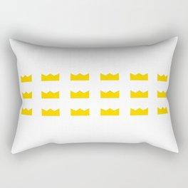 King Crowns Rectangular Pillow