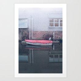 City Dweller Art Print