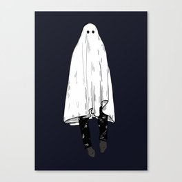 Ghosting You Canvas Print