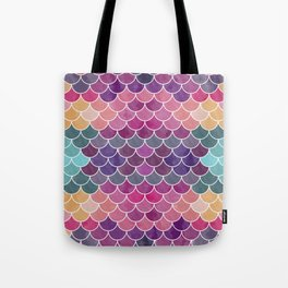 Watercolor Lovely Pattern VV Tote Bag