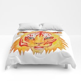 Tiger Face Comforters