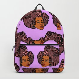 Tomi Repeat Pattern Backpack