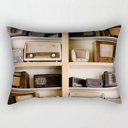 Vintage radio Rectangular Pillow