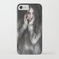 the vampire diaries iPhone & iPod Cases featuring Vampire by Justin Gedak