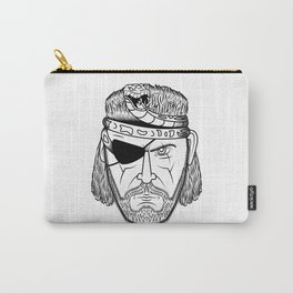 Portrait of a Snake Carry-All Pouch