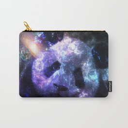 Panda Planet Colorful Galaxy Carry-All Pouch