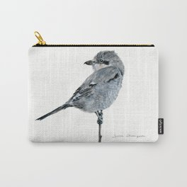 Northern Shrike by Teresa Thompson Carry-All Pouch
