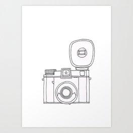 Click Click Click Art Print