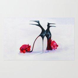 Luxury shoes Rug