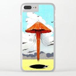 méduse volante #1 Clear iPhone Case
