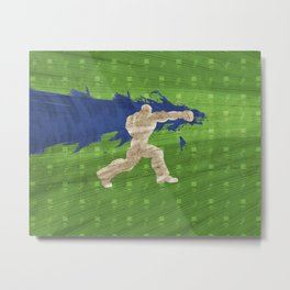 Tea Time (Homage To Dudley of Street Fighter) Metal Print