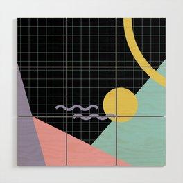 Memphis Pattern 7 - 80s - 90s - Retro Wood Wall Art