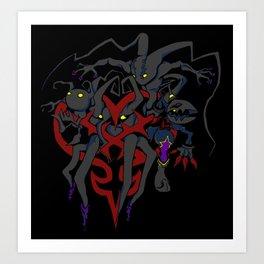 The Heartless Art Print