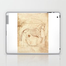 Da Vinci Horse In Piaffe Laptop & iPad Skin