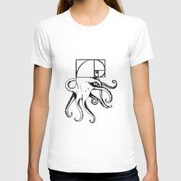 golden octopus T-shirt