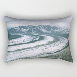 Ruth Glacier Rectangular Pillow