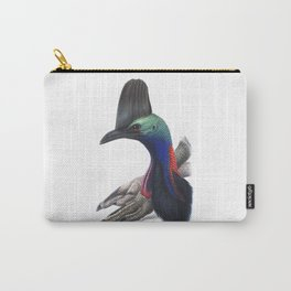 Southern Cassowary, tropical bird in the nature of Australia, New Zealand & Indonesia Carry-All Pouch