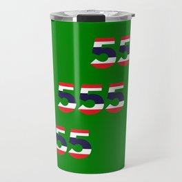 555  Thai flag Travel Mug