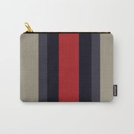 High Fashion Designer Style Stripes Carry-All Pouch