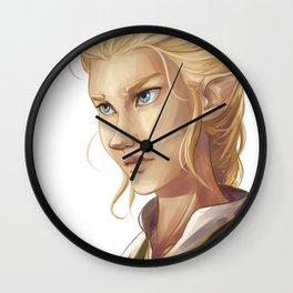 Throne of Glass Wall Clock