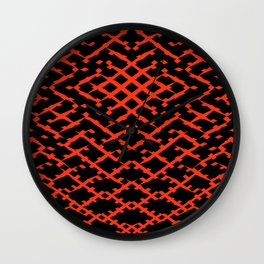 Pattern #5 Wall Clock
