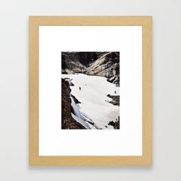 Last Call for Skiing Framed Art Print