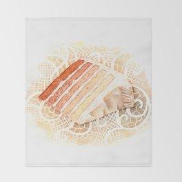 Ombre Cake Slice Throw Blanket
