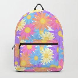 Floral Daisy Dahlia Flower Backpack