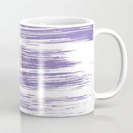 Modern abstract lilac lavender white watercolor brushstrokes Coffee Mug