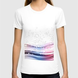 COLOR WAVE T-shirt