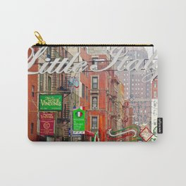 Welcome to Little Italy, NYC Carry-All Pouch