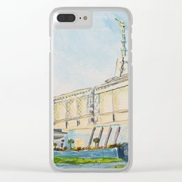 Mexico City DF LDS Temple Clear iPhone Case