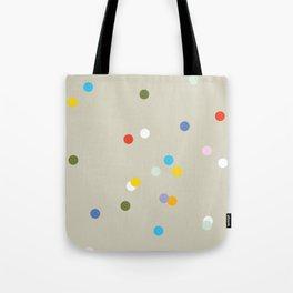 a spot of dots Tote Bag