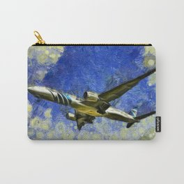 Airliner Van Gogh Carry-All Pouch