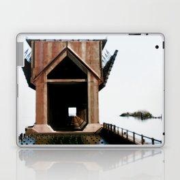 Surreal ore dock Laptop & iPad Skin