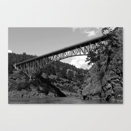 Deception Pass, the Bridge to Whidbey Island Canvas Print