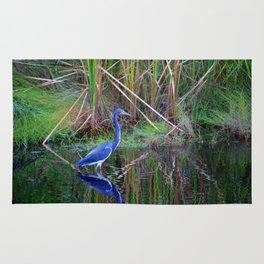 Little Blue Heron Rug